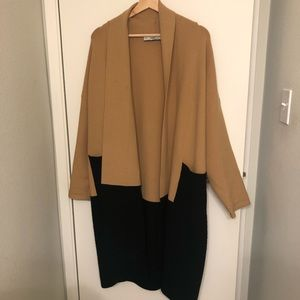ZARA Knit Long Cardigan